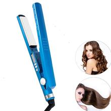 Home-Use Hair-Straighteners Flat Irons Professional Nano Titanium Electric 450-Degrees