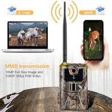 New 3G Hunting Camera 20Mp 1080P Photo Traps Night Vision Wildlife infrared Hunting Trail Waterproof Cameras hunt Scout(China)