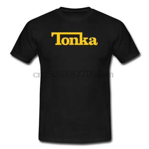 T-shirts do logotipo do caminhão tonka S-5XL novo