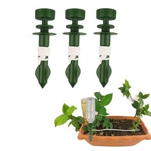 3 шт. автоматический поливочный клапан для растений, цветов, конический клапан для капельного полива, самополивочный шипы, инструмент для полива, регулируемые колья