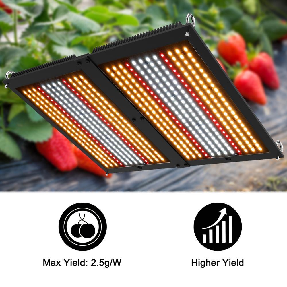 Phlizon Led Lamps For Plants Full Spectrum Grow Light 200W Cultivo Indoor Led