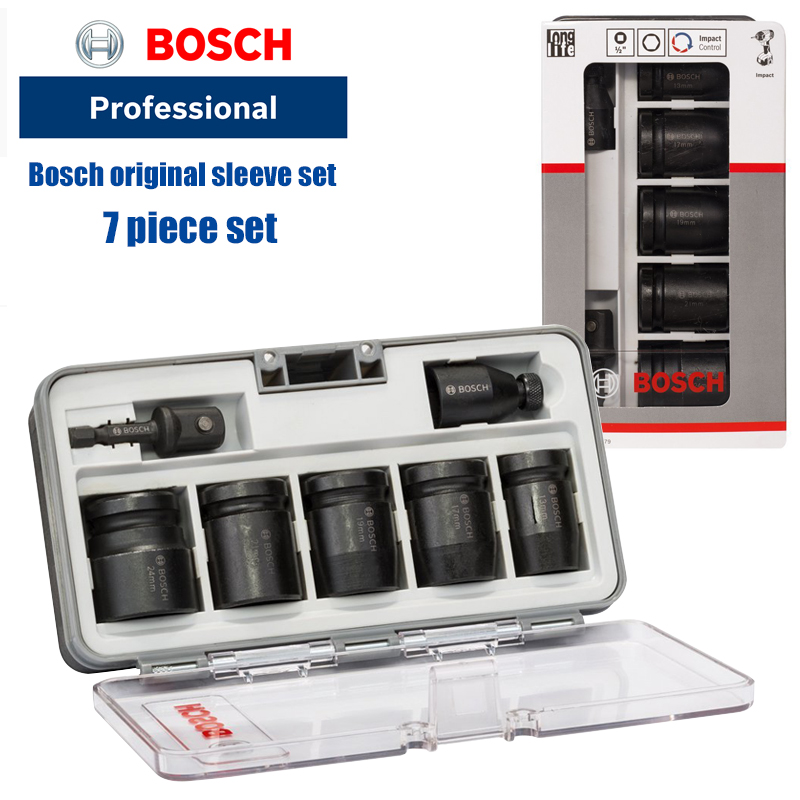 Bosch electric wrench socket head 13-24mm small jackhammer socket heavy hex set adapter Bosch socket set