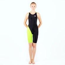 Женский купальник для гонок размера плюс Цельный похудения профессиональный