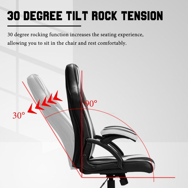 Gaming Office Chairs Executive Computer Chair Desk Chair Comfortable Seating Adjustable Swivel Racing Armchair Office Furniture 6