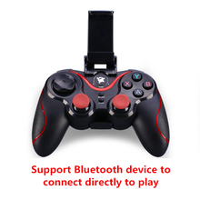 Wireless Joystick Gamepad Game Controller Bluetooth BT3.0 Joystick For Mobile Phone PC Tablet TV Box Holder