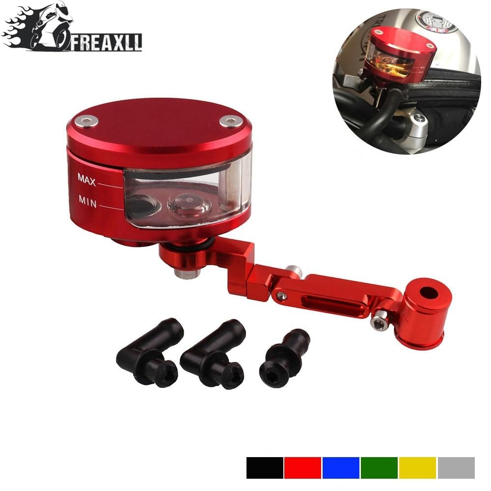 For Honda CBR600F4 CBR600F4i CBR600RR ABS CNC Brake Clutch Master Cylinder Fluid Reservoir Tank Oil Cup Motorcycle