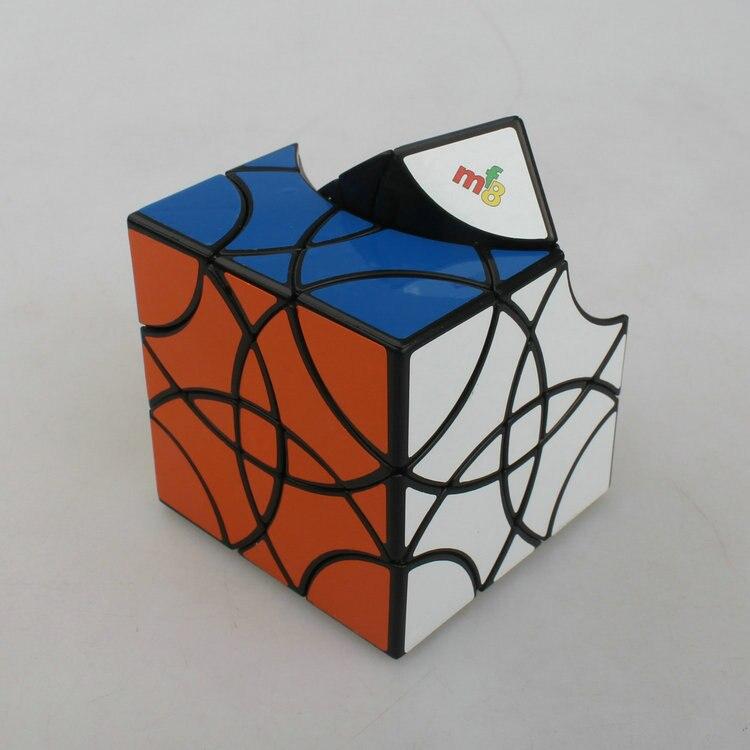 [Cube rubik's Cube en Arc cubique noir et blanc avec motif] Cube Mf8