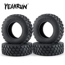 YEAHRUN 30 мм Ширина черные резиновые шины для мотоциклов колеса шины для Tamiya по супер скидке 1:14 Радиоуправляемый трейлер трактор передние коле...