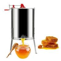 Ihraç 2 çerçeve bal çıkarıcı manuel arıcılık ekipmanları paslanmaz çelik arı kovanı ABD|Arıcılık Aletleri|   -