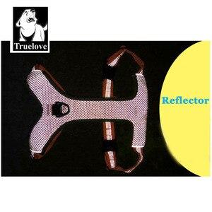 Image 4 - エックパッド入り反射犬ペットハーネス小大ソフトウォーク調整可能なハンドルとシートベルト用のペット用品ドロップシッピング