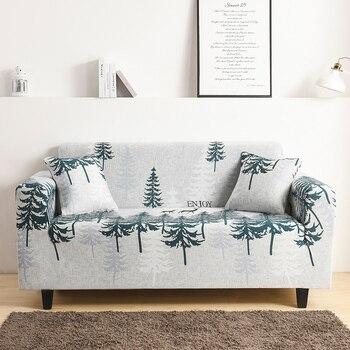 1/2/3/4 seduta del divano copre stretch per soggiorno elastico divano copre completamente avvolto fodere a prova di polvere divano sedia copridivano