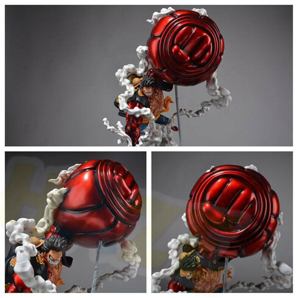 Monkey D. Luffy Statue Model Painted Gear Fourth One Piece Figure Toy Anime PVC Toys