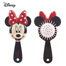 Disney Mickey Minnie Comb Kid Air Cushion Massage Comb Hair Care Brushes Baby Girls Dress Up Makeups Toy Gifts