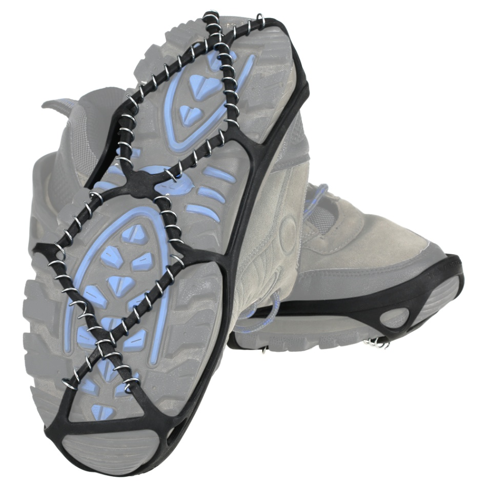 Anti Slip Shoe Boot Grips Ice Cleats Spikes Snow Gripper Non Slip Crampons BH