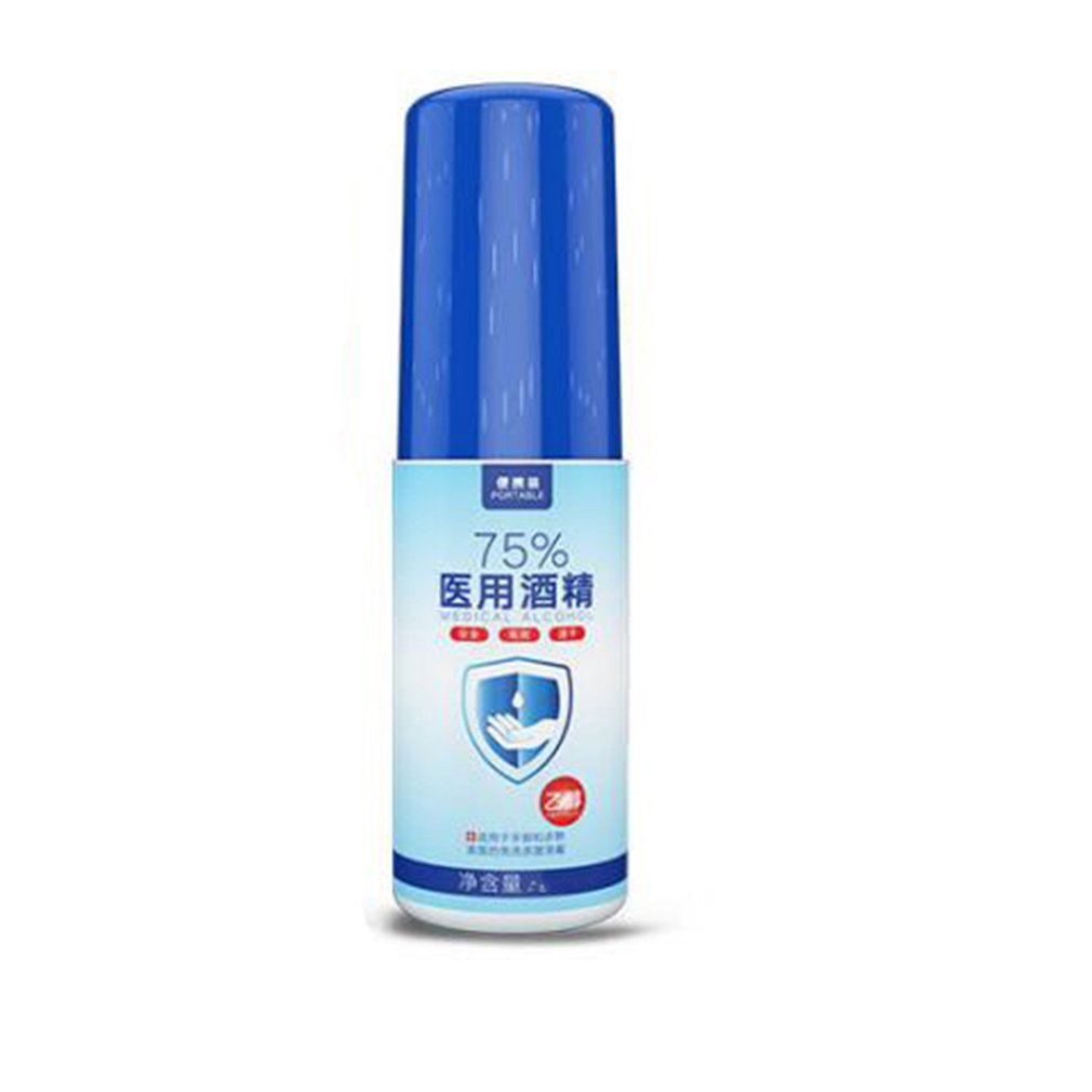 50ml 75% Disinfection Alcohol Carry-on Disposable Hand Alcohol  Disinfection Spray Bottled Epidemic  Prevention  Hand Sanitizer