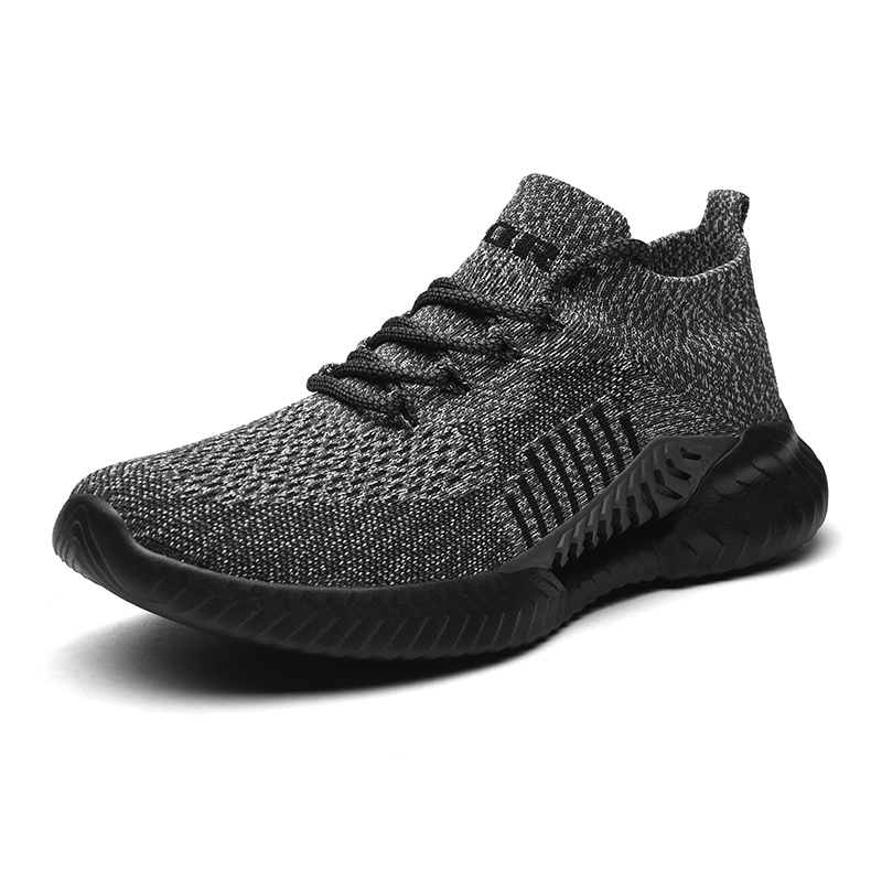 New Fashion Breathable Shoes Men Mesh Lace-up Man Shoes Comfortable Casual Sneakers Shoes Man Summer Plus Size High Quality