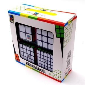 Image 5 - Moyu Cube Bundle 2x2 3x3 4x4 5x5 Speed Cube Set Mofang Jiaoshi Magic Cube MF2S MF3S MF4S MF5S Pack Puzzle Toy Gift Box