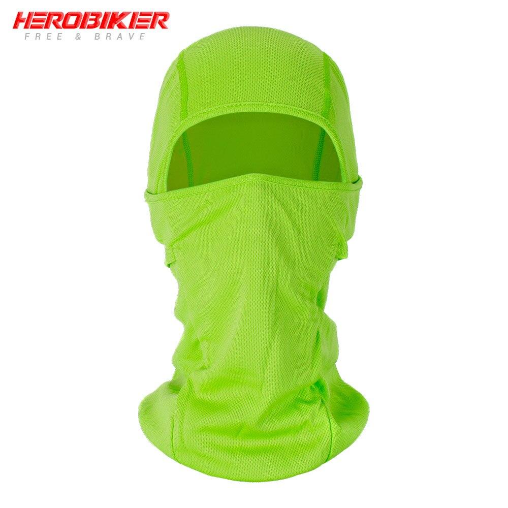 HEROBIKER мотоциклетная Балаклава маска для лица мото теплая ветрозащитная дышащая страйкбольная Пейнтбольная велосипедная Лыжная маска для лица мужской солнцезащитный шлем - Цвет: BE-06
