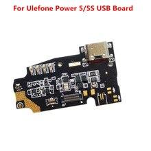 Ulefone Power 5/5s لوحة USB 100% أصلية, لوحة شحن USB لاستبدال ملحقات هاتف Ulefone Power 5/5s