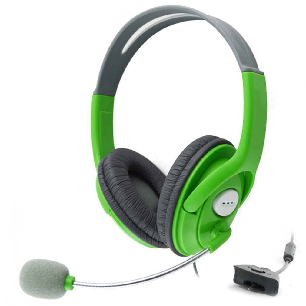 Gaming Headset With Adjustable Microphone For Xbox 360 Noise Cancelling Game <font><b>Headphone</b></font> <font><b>Durable</b></font> Stereo Earphones image