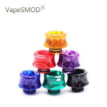 Drip tip 510 Electronic cigarette snake skin holder Resin Mouthpiece for 510 Thread Mouthpiece Tanks Epoxy RDA RTA Atomizer(China)