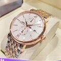 Schweiz LOBINNI Männer Uhren Luxus Marke Armbanduhren Männer Seagull Automatische Mechanische Multi-funktion Wasserdichte Uhr L1022