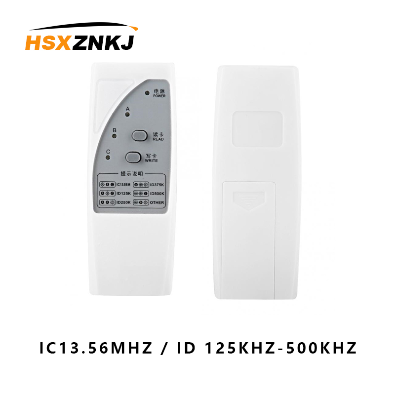Handheld Reader Copier Rfid Nfc 125khz-13.56mhzid Ic Access Control Card Copier Copier Clone Writer Access Control Card Reader