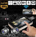 Gps wifi 128g fhd 1080 p moto câmera 3