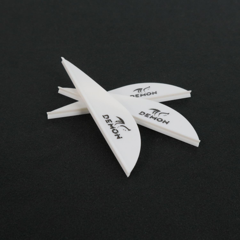 2.5 polegada seta palhetas de plástico flexching