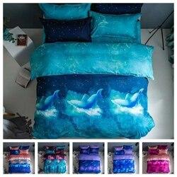 2021 Fashion 2/3pcs Bedding Set Soft Duvet Cover Set 1Quilt Cover + 1/2 Pillowcases US/EU/AU Single Twin Double Full Queen King