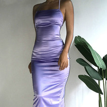 La MaxPa Sexy Backless Party Dress Instagram Fashion Hipster Vogue Women Clothing Elegant Silm Slash Neck Runway 2019