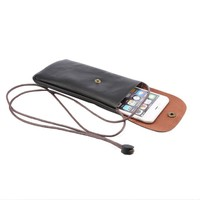 Multi Colors Universal Leather Phone Bag Phone Bag for iPhone for Samsung for Huawei for HTC Universal Phone