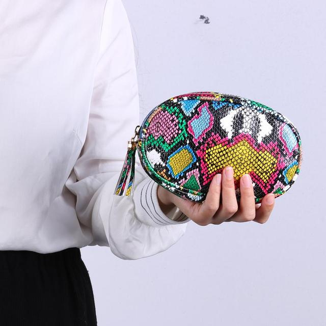 Colorful Zipper Belt Bag  3