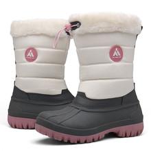 Buty damskie buty zimowe kobieta buty śnieżne połowy łydki ciepłe buty futrzane buty damskie buty na platformie płaskie buty botas mujer tanie tanio SAGUARO Brak Tkane Pasuje prawda na wymiar weź swój normalny rozmiar Okrągły nosek Zima Gumką Mieszane kolory Mieszkanie z