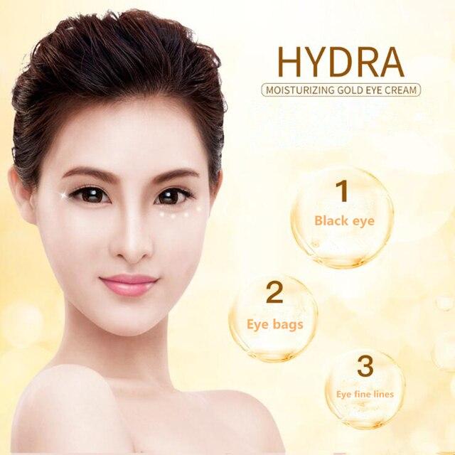 New Gold Tender Refresh Moisturizing Revitalizing Eye Mask Makeup Eyes Cream Whitening Compact Concealer Prevent Bask Skin Care 4