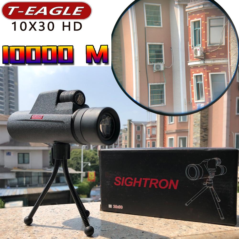 SULIKO HD 10x30 monoculaire 40x60 jumelles puissantes de haute qualité télescope de poche vision nocturne militaire professionnel chasse