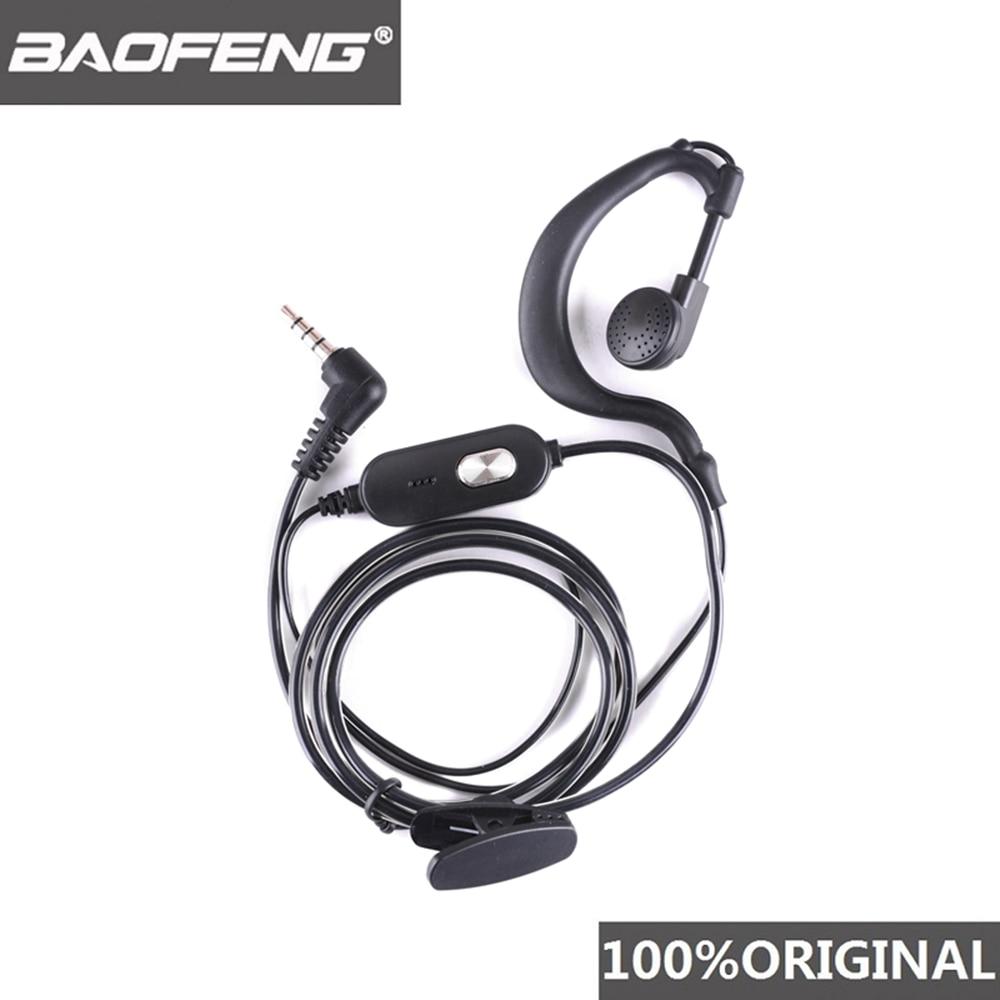 100% Original Baofeng BF-T1 Headset Microphone Two Way Radio Earphone Walkie Talkie Headphone BF-910
