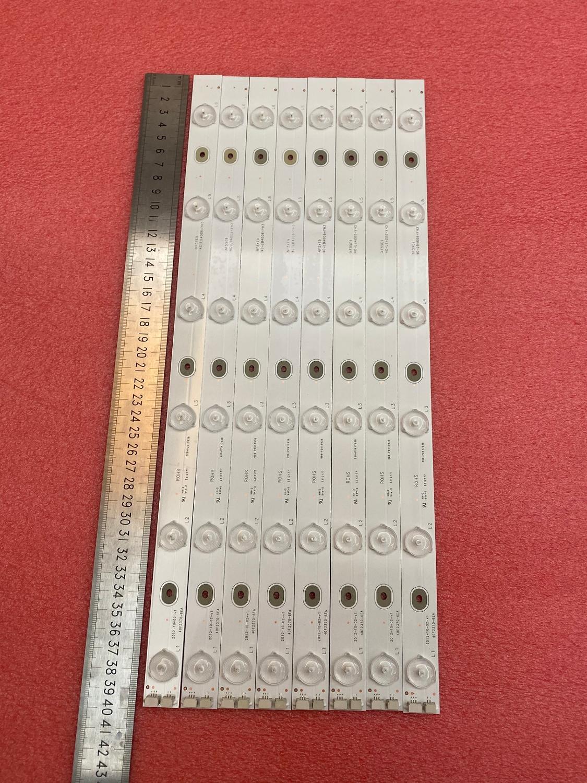 New 8 PCS/set 6LED LED Backlight Strip For For TCL 40f2370 Toshiba Dl4061 40F2370-6EA E312177 006-P2K1793B NF5XE9 4C-LB4006-YH3