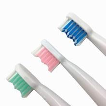 Lansung 3 pçs substituição da cabeça escova de dentes apto para u1 a39 a39plus a1 sn901 sn902 escova de dentes elétrica