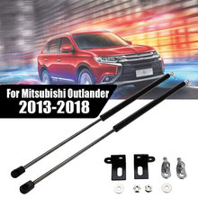 2Pcs Auto Bonnet Hood Gas Struts Lift Supports Front Hood Engine Cover Hydraulic Shock Struts For Mitsubishi Outlander 2013-2018