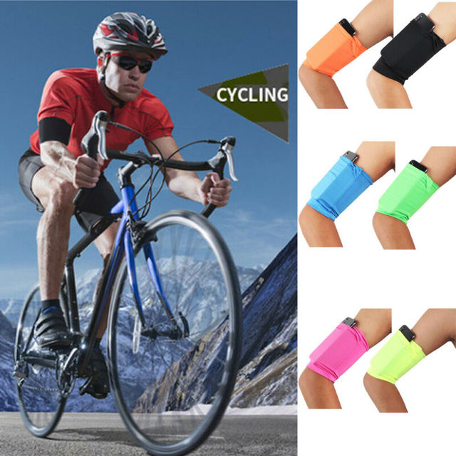 Gym Sports Running Jogging Armband Arm Band Bag Holder Case Cover For Cell Phone Armband 3E26 2