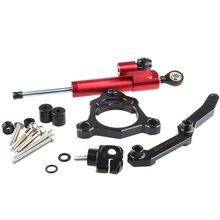 For Kawasaki Z800 Z 800 2013-2016 Motorcycle Aluminium Steering Stabilizer Damper Mounting Bracket Kit
