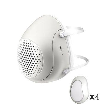 Smart Electric Masks Anti-bacterial Haze Flu Dust-proof Breathable  Level Protective Masks PM2.5 Mask 2020!