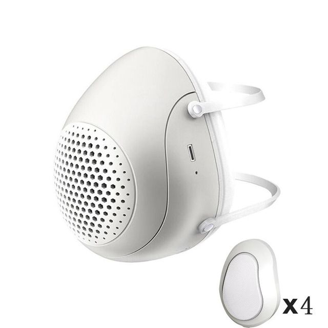 Smart Electric Masks Anti-bacterial Haze Flu Dust-proof Breathable  Level Protective Masks PM2.5 Mask 2020!