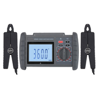 electricity inspection Double clamp digital phase voltmeter multi functional