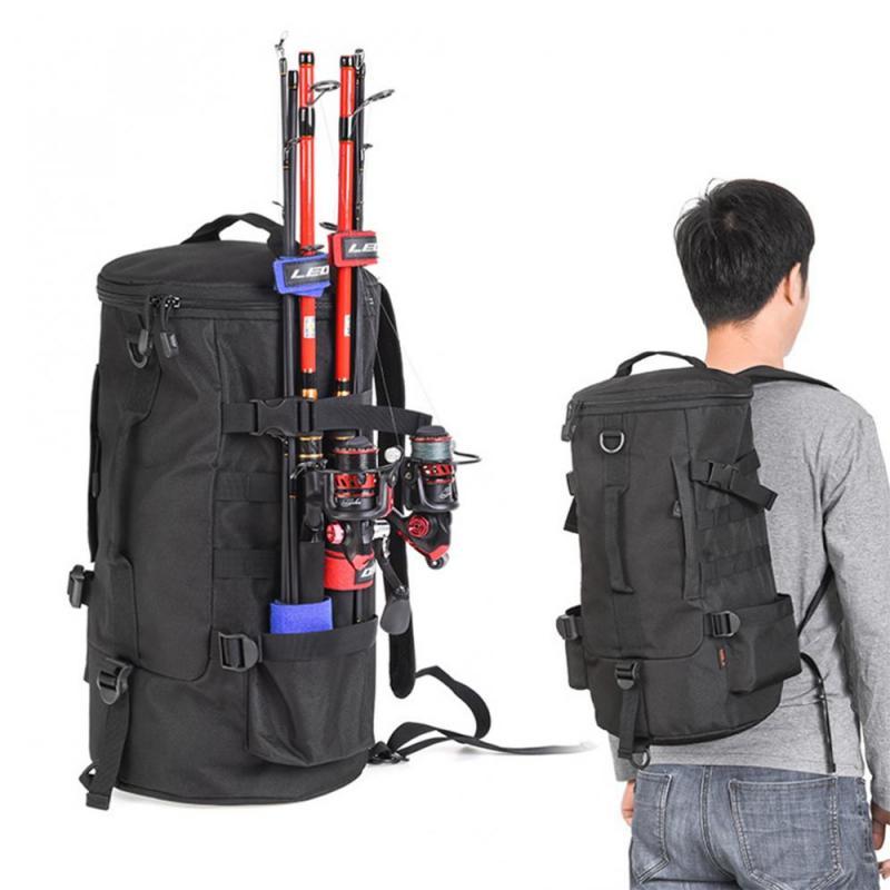 23L Unisex Multifunctional Fishing Tackle Bags Outdoor Backpack Trekking Single Shoulder Crossbody Bags Fishing Bags Pesca 7