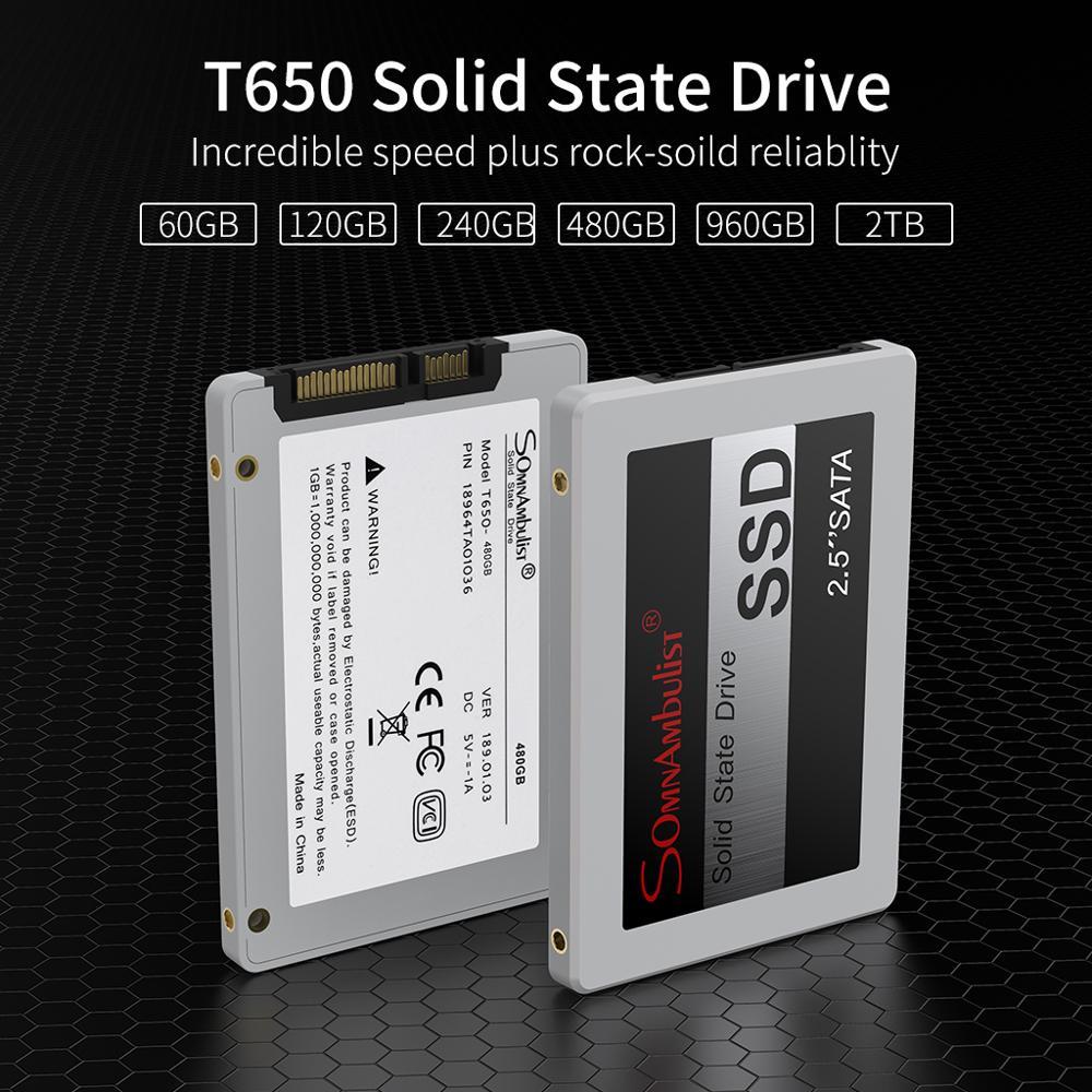 SSD 1tb 120gb 240 gb 480gb SSD HDD 2,5