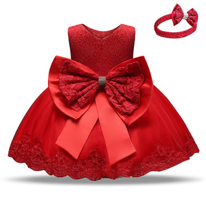 Image 3 - Trẻ Sơ Sinh Đầm Giáng Sinh Công Chúa Cho Bé Đầm Dự Tiệc Cho Bé Gái Christening Đầm 1 Năm Sinh Nhật Đầm Quần Áo Bé Sơ Sinh