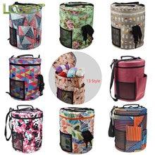 Looen Crochet Bag Empty Storage Yarn Organizer For All Sewing Accessories Knitting DIY Needle Arts Craft