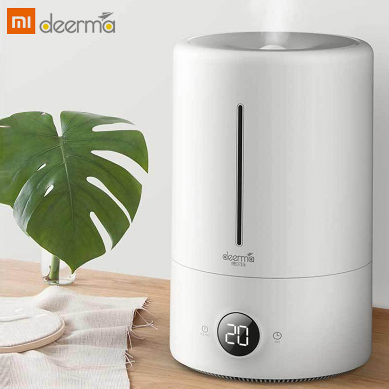 The Original Xiaomi Mijia Deerma 5l Humidifier 35db Silent Air Purification For Rooms With Air Conditioned Office)